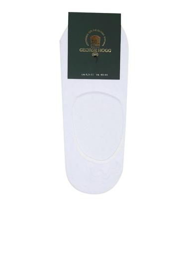 George Hogg 2'li Çorap Beyaz
